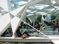 Toyo Ito Pavillon de la galerie Serpentine, Londres, 2002.