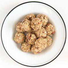 Sweet and Salty No-Bake Oatmeal Energy Balls