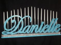 Tiered Candle Holder Embellishment for Sweet 16 by NameWithFlame, $9.00