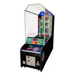 NFL 2 Minute Drill Football Arcade #mancavegarageideas Arcade Games For Sale, Arcade Game Room, Arcade Game Machines, Arcade Machine, Man Cave Basement, Man Cave Garage, Basement Games, Man Cave Diy, Man Cave Home Bar