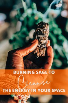 Burning sage to cleanse the energy in your space — Lydia Kia Sage Benefits, Burning Sage, Cleanse Me, Yoga Session, Asthma, New Job, Stress Relief, Positive Vibes, No Worries