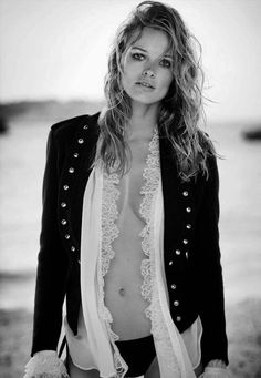 Edita Vilkeviciute by Boo George for Vogue Germany July 2016