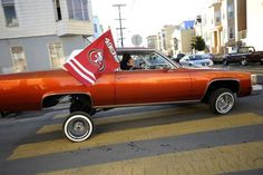Win or lose, the faithful will be out in full force after the game, especially San Francisco's lowrider community. After the game, expect a parade Lowrider Model Cars, Donate Car, Hydraulic Cars, Car Tags, Photo Checks, Simple Bags, Kids Playing, Things That Bounce