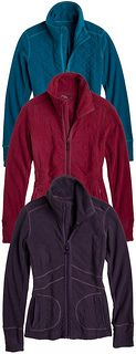 prAna Dee Dee Jacket - The berry and plum colors are very nice