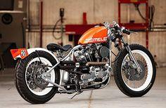 "DP Customs 1000cc Harley-Davidson Ironhead ""Mele"""