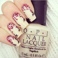 """Credit to @sarawennergrund  #nails2inspire"""