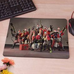team fortress 2 Mousepad Mouse Pad pc mac laptop notebook usb hwd Gamer anti slip