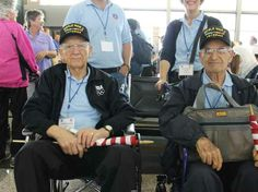 This is beautiful: 25 Happy Faces Of WWII Veterans As They Arrive In Washington, D.C., To A Huge Cheering Crowd
