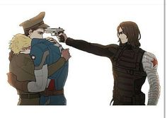 no please oh my god I can't handle this i'm not supposed to relate to bucky this way