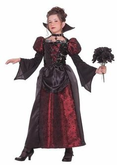 [Halloween Costumes Girls] Forum Novelties Vampire Miss Dress, Child's Medium *** Find out more about the great product at the image link. (This is an affiliate link) Costume Halloween, Girls Vampire Costume, Vampire Dress, Vampire Costumes, Halloween Costumes For Teens, Girl Costumes, Halloween Kids, Costume Ideas, Halloween 2018