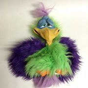 Axtell Expressions Professional Vern Bird Rare Multicolored Hand Puppet Henson