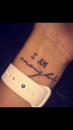 Tattoos for Women Small Wrist Meaningful Quotes - New Tattoos for Women Small Wr.Tattoos for Women Small Wrist Meaningful Quotes - New Tattoos for Women Small Wrist Meaningful Quotes, Inspiring Quote Tattoos Neue Tattoos, Hot Tattoos, Trendy Tattoos, Body Art Tattoos, Tatoos, Saying Tattoos, Stylish Tattoo, Colorful Tattoos, Tattoo Grace