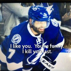 Radko Gudas, Fear the Beard. Tampa Bay Lightning. Love him.