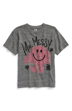 Junk Food 'Mr. Messy™' T-Shirt (Little Boys) available at #Nordstrom