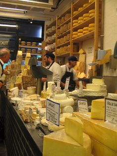 Borough Market Cheese Shop, via Flickr.MsFiggis