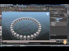 MayaTut - Snap align object - Along curve