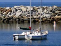 Boats near The Portofino Hotel and Yacht Club, Redondo Beach