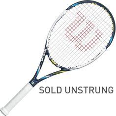 Wilson Juice 100 Tennis Racquet, Blue