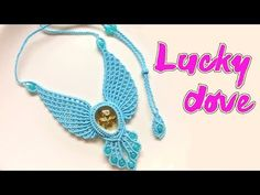 Let this macrame dove bring luck to you - The pigeon necklace tutorial - vòng cổ chim bồ câu. This macrame lucky dove necklace tutorial took me so much time than I thought, There are so much cords and many times need to add cord. Macrame Earrings, Macrame Jewelry, Macrame Bracelets, Necklace Tutorial, Earring Tutorial, Macrame Patterns, Crochet Patterns, Diy Unicorn Headband, Collar Macrame