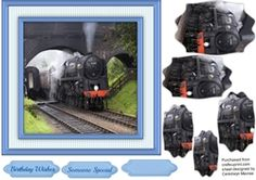 Eastern Passenger Train  on Craftsuprint - View Now!