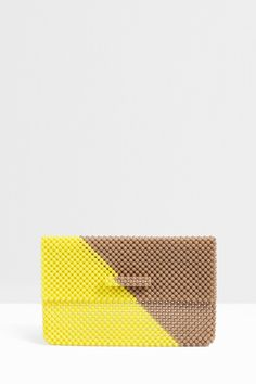 Romy Small Diagonal Clutch By DEL DUCA @ http://www.boutique1.com/