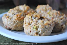 Clean Eating Chicken Muffins Recipe on Yummly. @yummly #recipe