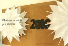 Decoración con estrellas para Año Nuevo
