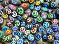 Here are ten awesome crafts to get in the spirit of peace and love, on…