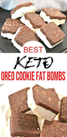 EASY ingredient Keto fat bombs! These Oreo Cookie fat bombs are so tasty. NO bake recipe that is healthy sugar free gluten free & low carb. Great as quick snacks ideas keto desserts or delish sweet treat. Easy to make recipe to eat healthier great keto beginners recipe - homemade not store bought. Check out Oreo Cookie chocolate fat bombs idea - simple & easy recipe. Great for New Years healthy food Valentines. #chocolate #lowcarb fat bombs :) ...n enjoy salads and vegetables steak and other…