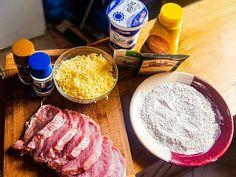 Szaftos, sajtos, tejfölös karaj recept lépés 1 foto Meat, Food, Essen, Meals, Yemek, Eten