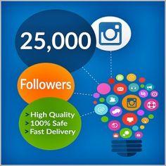 Buy Instagram Followers $5 per 1000 Followers