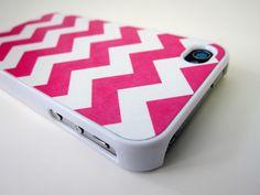 Pink Chevron iPhone case