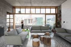 Smart Roof Extension Boasts Panoramic City Views in Beirut - https://freshome.com/roof-extension-Beirut/