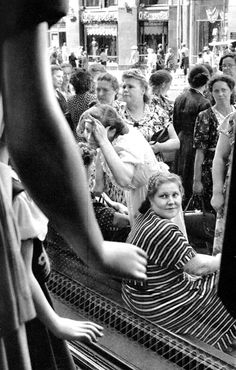 Moscow, USSR, 1954, by Henri Cartier-Bresson.