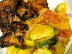I LIVED on pizza zucchini my first year of paleo and totally forgot about it-- it's a great & tasty side dish :)