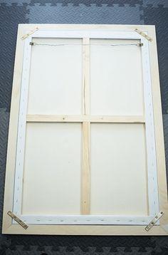 Diy canvas art 369928556892320362 - How To Frame Canvas Art – fully framed canvas art. Diy Canvas Frame, Canvas Picture Frames, Framing Canvas Art, Frames For Canvas Paintings, Diy Canvas Art, Canvas Pictures, Diy Wall Art, Diy Art, Framed Canvas