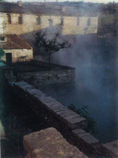 Andrei Tarkovsky, Polaroids, 1979-82.