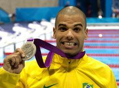 André Brasil - medalha de prata -  Foto: Fernando Maia/CPB/Divulgação