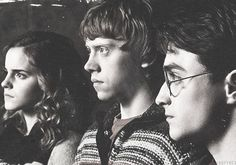 harry, ron and hermione