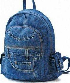 LEVIS jeans mochila denim reciclado jean bolsa mochila mochila by Avivahandmade EtsyBest Friend Gifts Fo - October 19 2018 atwomens-apparel-gift-giving-tips - Womens Fashion Bags Prada Fall 2015 hand bags and purses urban outfitters. Diy Jeans, Recycle Jeans, Denim Bag Patterns, Bag Patterns To Sew, Jean Backpack, Small Backpack, Sac Week End, Jean Purses, Denim Handbags