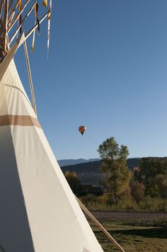 Come stay and play in our new addition the Smoke Signal Tipi. Feel free to contact us for more info! XO- Chipeta Solar Springs Resort. Ridgway, CO