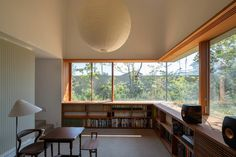 八島建築設計事務所|Yashima architect and associates | おおたかの森の家 / Otakanomori house Home Room Design, Home Office Design, Home Interior Design, Interior Styling, Interior Architecture, House Design, Japanese Home Design, Japanese Interior, Piece A Vivre