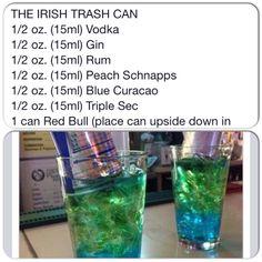Irish trash can drink