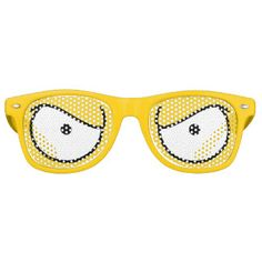 Halloween Costume Angry Cartoon Eyes Sunglasses Party Shades for Party Gift Bags or Halloween Party Prizes. (fun, lol, cosplay, homer simpson costume, simpsons costume) 15% OFF SALE