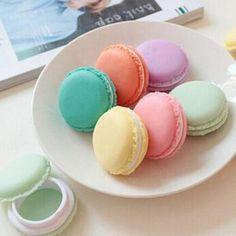 Jewelry Box Candy Color Cute Macaron Storage Pill Case Organizer