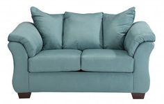 Signature Design by Ashley Darcy Loveseat Sky >>> Continue to the product at the image link.