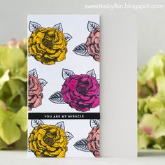 The new Fresh Bloom release by Simon Says Stamp is available today! Copic Sketch Markers, Stamping Tools, Love Always, Simon Says Stamp, Ink Pads, Tim Holtz, Clear Stamps, Card Stock, Bloom