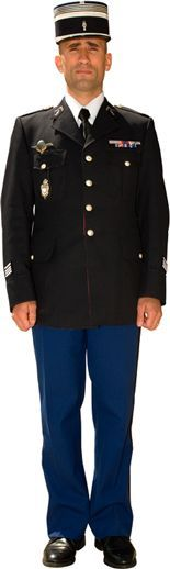 1960s french police uniform - Google Search