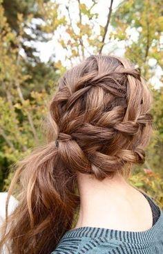 Hairdo for long hair