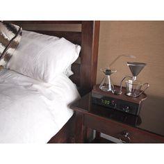Le Barisieur: ce concept de réveil design qui prépare le café
